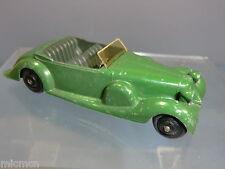 """Vintage DINKY TOYS modèle No.38c LAGONDA Coupé De Sport. """"GREEN Version"""""""