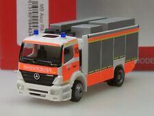 """Herpa Mercedes Axor Rüstwagen RW2 """"Feuerwehr Düsseldorf"""" - 094634 - 1:87"""
