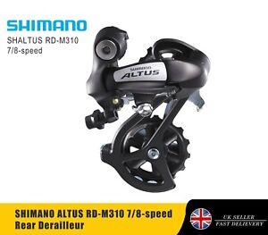 SHIMANO ALTUS RD-M310 7/8-speed Rear Derailleur - Medium Cage
