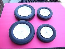 """LOT OF (4) LAWN BOY REPLACEMENT WHEELS-  2-8"""" & 2-6"""" 678637 / 682974 / 678636 :"""
