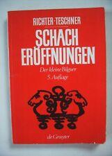 Schacheröffnungen - der kleine Bilguer, Richter/Teschner, Walter de Gruyter 1970
