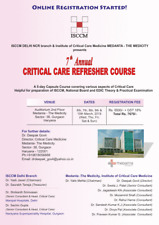 Critical Care Reefrsher Course 2019