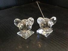 Swarovski Crystal Figurines Mouse/Mice