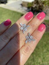 Bruni 18K White Gold Diamond Earrings New listing New $ 6740 . Pasquale
