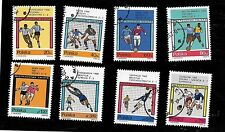 Poland #1405-1412 World Cup Soccer - Set of 8 - Used