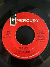 Lesley Gore - Hey Now/ Sometimes I Wish I Were A Boy - 45 RPM