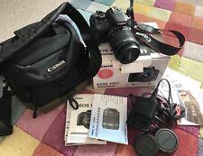 Canon Fotocamera digitale reflex. EOS 100D EF-S18-55mm Bundle. in buonissima condizione
