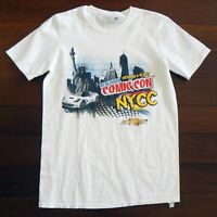 NEW YORK COMIC-CON 2015 NYCC Comic Book Convention Men's T-Shirt White Medium