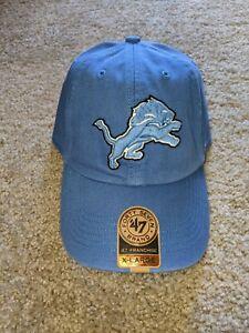 NWT Detroit Lions '47 Brand Franchise Fitted X-Large XL Adult Hat Cap NFL