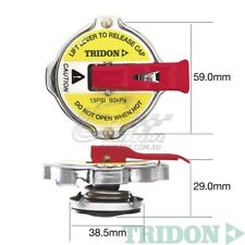 TRIDON RADIATOR CAP SAFETY LEVER FOR Ford Cortina TC, TD 10/72-05/77 4 2.0L