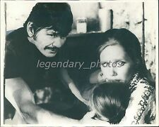 "1974 Charles Bronson and Liv Ullmann in ""Cold Sweat"" Original News Service Photo"