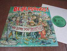 """BEATLESONGS """"We Love You Beatles"""" 1982 Best of Beatles Novelty  Rhino  NM   G39"""