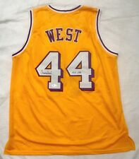 4ef6283acb4 JERRY WEST Signed Lakers Jersey w
