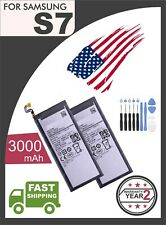 Li-ion Replacement Battery Compatible Fits For Samsung Galaxy S7 +TOOLS 3000mAh