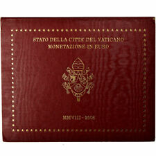 [#735623] Vaticaan, 1 Cent to 2 Euro, 2008, BU, FDC, n.v.t.