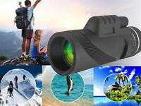 Powerful Binoculars HD 40x60 Zoom Binocular Field Glasses Handheld Telescopes