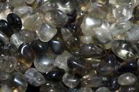 1LB Brazil Smoky Quartz Tumbled Gemstones Wholesale Bulk TRQS-16/7M9