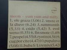 MEEM  -   YUM YUM AND MIFFY , LIMITED EDITION, CD von 1999 ,  ELECTRONIC, HOUSE