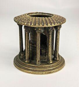 Antique Grand Tour Bronze Model of the Temple of Vesta Rome - c19th Fine