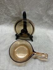 New ListingCorning Visions cookware Amber .5 L (1/2 qt.) Sauce pan w/lid
