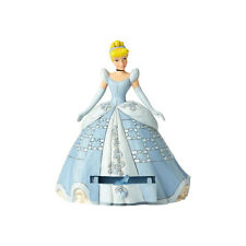 Disney Traditions Jim Shore 2018 Princess CINDERELLA & Slipper Charm Figurine