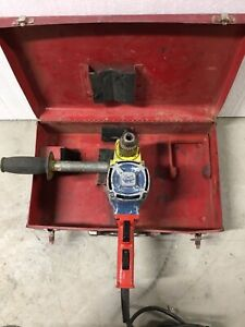 Hole Hawg drill Milwaukee 1575-1 good used condition
