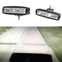 LED Working Light Flood Beam Bar Driving Fog Lamp Offroad 4WD SUV 6Inch 60W CHY