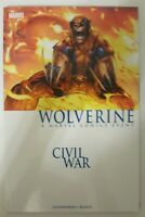 Marvel-Wolverine : Civil War- A Marvel Comics Event-Graphic Novel- Softcover