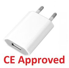 Original EU European 2 Pin Plug USB Power Home Wall Charger Travel Adapter