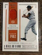 Frank Robinson 2019 National Treasures Hall Of Fame Materials #53/99 1982