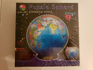 Puzzle Sphere 3D - JP The Blue Marble Earth 540 pieces NEW