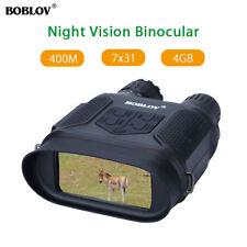 BOBLOV Zoom 7x31 Digital Night Vision binocolo 400m/1300ft visualizzazione gamma