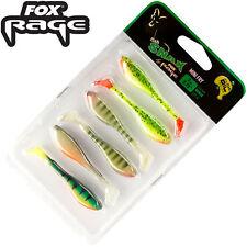 1//0-3 Texasrigs für Barsche Fox Rage Texas Slick shad kit 1m 0,22mm 3,53kg Gr