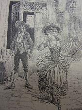CURIOSA / LES JOYEUSES HISTOIRES DE NOS PERES 1893 N°6