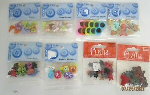 BUTTONS...FUN BUTTONS.. 8 TO CHOOSE FROM