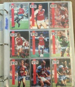 PRO-SET FOOTBALL TRADING CARDS - 1990-1991 – ASTON VILLA