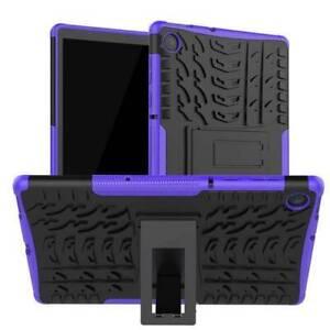 For Lenovo Tab E7 M8 E10 M10 FHD Plus Shockproof Hybrid Armor Stand Case Cover