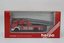 Herpa 806502 Mercedes Fire Turntable Vehicle LHD 1/87 Scale HO Gauge Plastic W10
