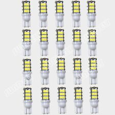20-Pcs 12V T10 42-SMD Warm White Camper Trailer LED Light Bulbs replacement 504