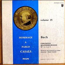 "RARE PHILIPS ""Hommage a PABLO CASALS Vol 15"" JS Bach Brandenburg 01.310"
