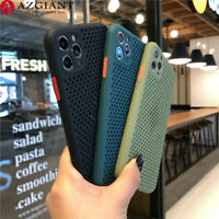 Ultra Slim Soft Heat Dissipation Phone Case for iPhone 12 11 Pro XS Max XR X 7 8
