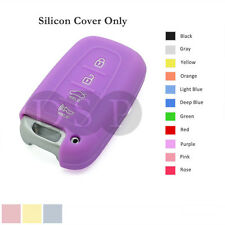 Silicone Cover fit for HYUNDAI Elantra Sonata Veloster Smart Remote Key Case PU