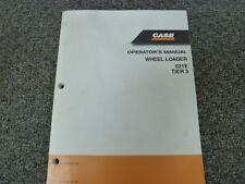 Case Model 521E Tier 3 Wheel Loader Owner Operator Maintenance Manual 87647786