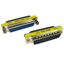 25 Pin RS232 Serial Male to Female Port Saver Adaptor
