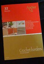 Anchor Nr. 11 crochet borders Häkelspitzen Häkelheft in 7 Sprachen