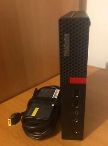 Lenovo M710Q ThinkCentre Intel i5-7400T@2.40GHZ (7thGen)256GB SSD 8GB wifi Win10