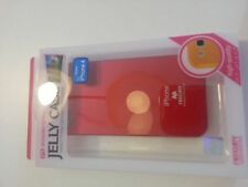 "Coque Etui Housse "" JELLY CASE MERCURY"" pour iPhone 4S 4G Rouge"