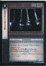Lord Of The Rings CCG FotR Card 1.U238 Wreathed In Shadow