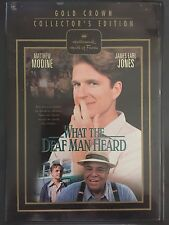 What the Deaf Man Heard, Dvd, Hallmark Hall of Fame Gold Crown Col. Edition