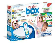 16609 CLEMENTONI MY CLEM BOX CONSOLLE GIOCO WIFI BT VIDEO 4K 4+ ANNI NUOVO